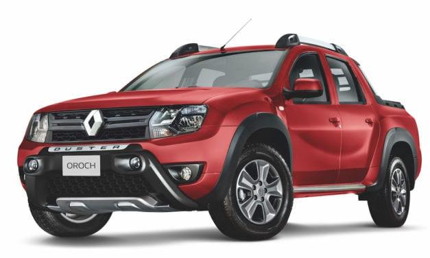 Renault Oroch Outsider, ahora con transmisión manual