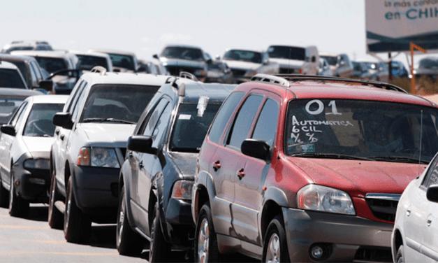Aumenta 11% importación de vehículos usados en 1er trimestre