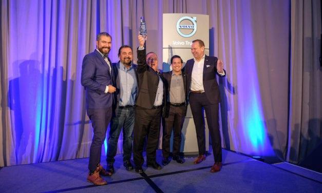 Reconocen a Distribuidores de Volvo Trucks México