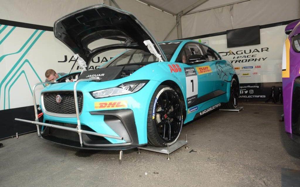 Es DHL socio logístico del Campeonato Jaguar I-PACE eTROPHY