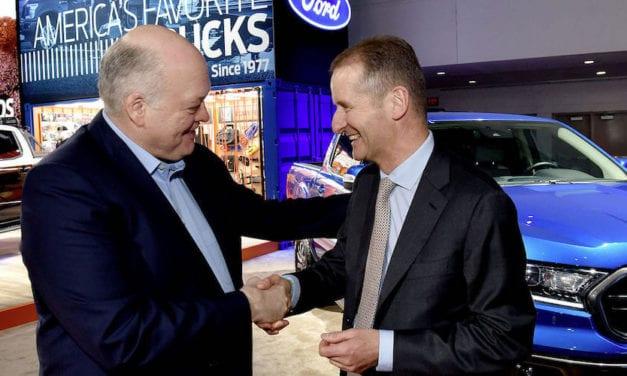 Se unen VW y Ford para desarrollar vehículos comerciales