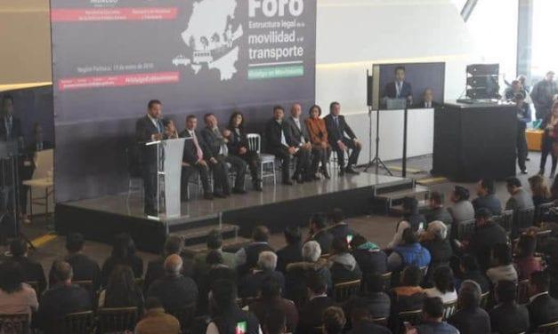 Construye Hidalgo estrategia integral de movilidad