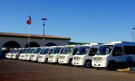 Ruedan 100 autobuses nuevos en Sinaloa