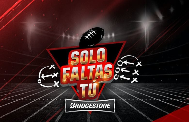 Invita Bridgestone a vivir experiencias NFL