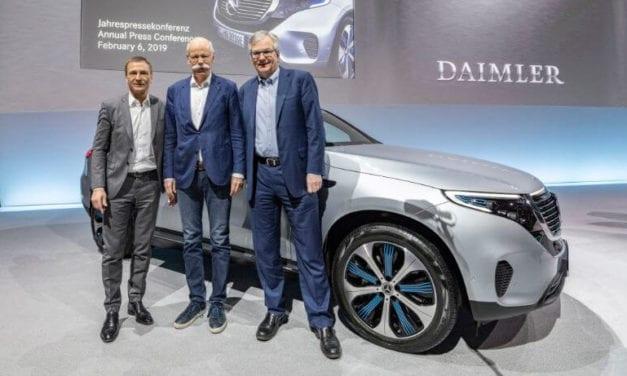 Progreso en áreas claves para el futuro: Daimler AG
