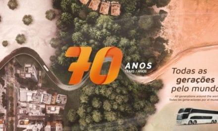 Comienzan celebraciones por 70 aniversario de Marcopolo