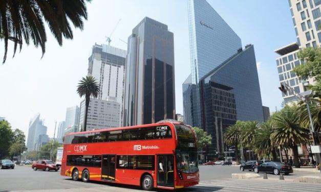Con normalidad opera Metrobús en Reforma
