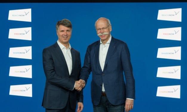 Daimler y BMW tendrán un proveedor conjunto de servicios de movilidad