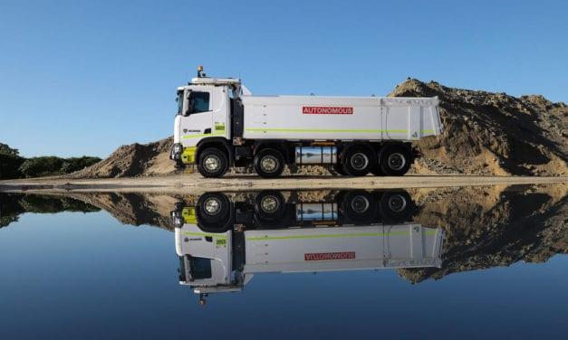 Ensaya TRATON con camiones autónomos