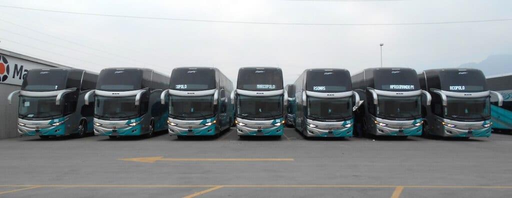 Recibe IAMSA 83 autobuses MAN-Marcopolo