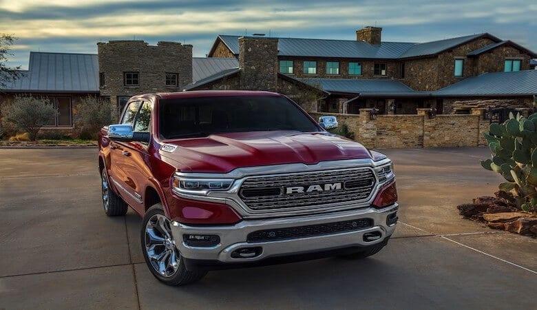 Chrysler Pacifica y Ram 1500 en el top 10