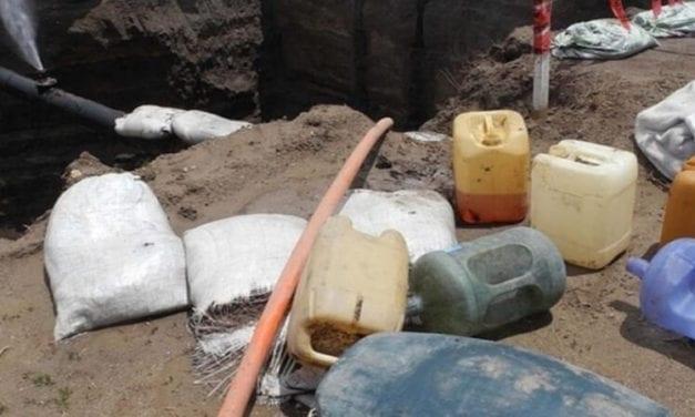 Encabeza Hidalgo lista de tomas clandestinas de combustible
