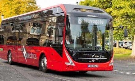 Llegan los eléctricos de Volvo Buses a Irlanda