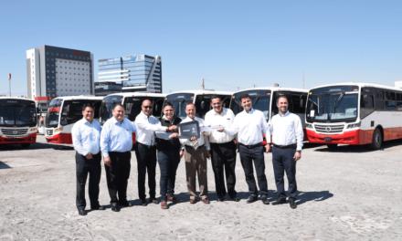Con 6 Volksbus se fortalece Autotransportes Corregidora