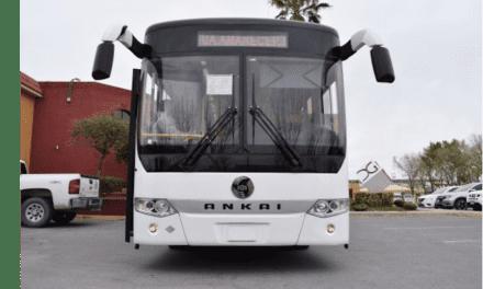 Convencen los autobuses Ankai en Chihuahua