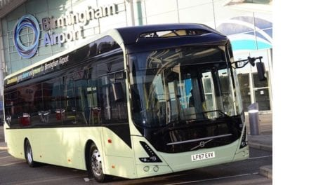 Volvo suministrará autobuses verdes al Aeropuerto de Birmingham
