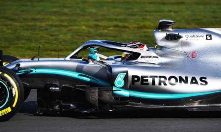 Nuevo color para escudería Mercedes