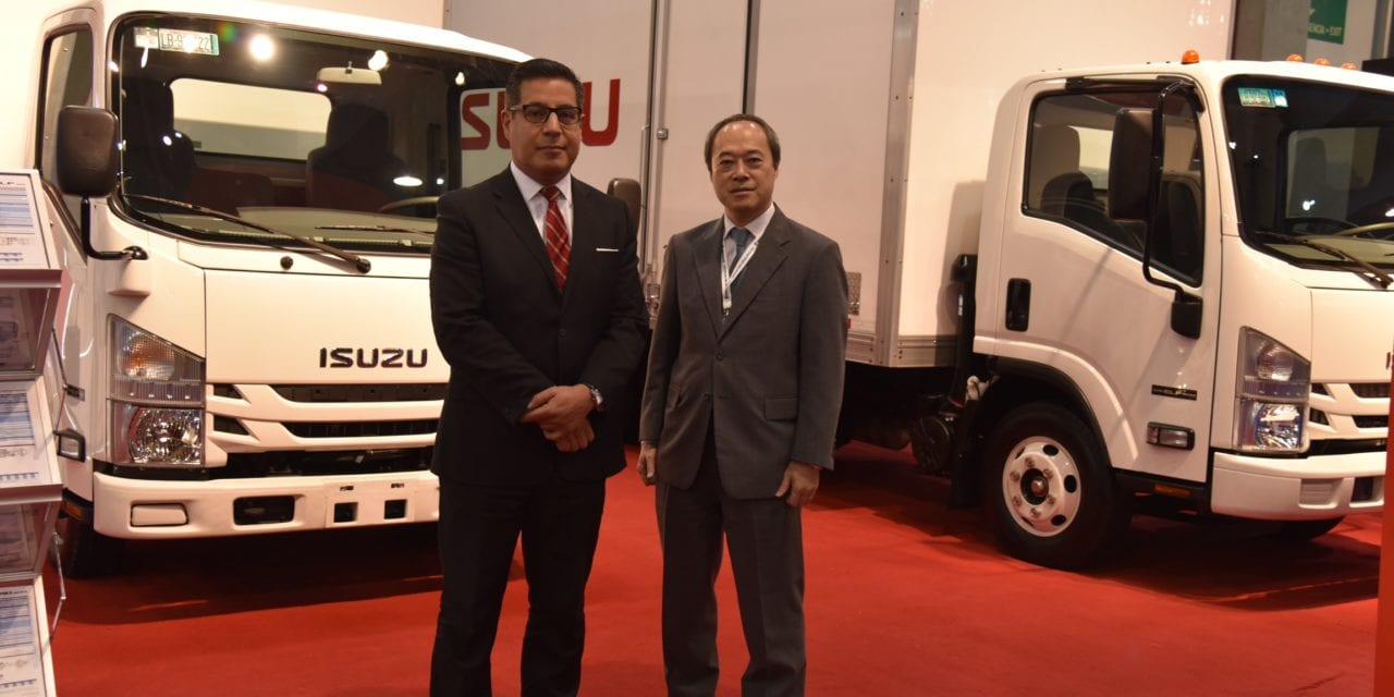 Para la distribución más exigente, camiones Isuzu
