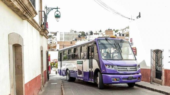 Prueban autobuses Volkswagen en Zacatecas