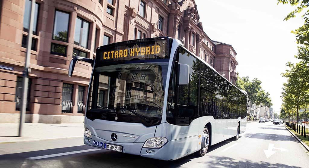 Citaro Hybrid, el autobús urbano de mejor desempeño