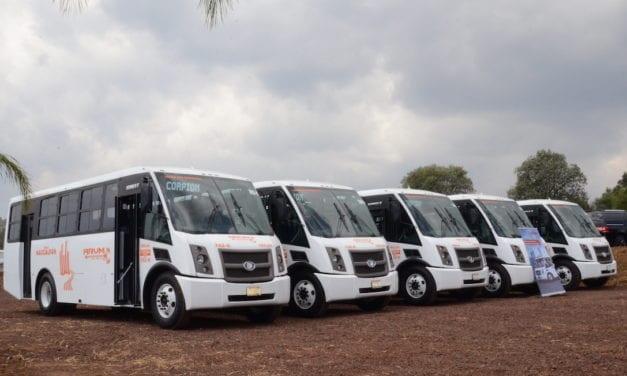 Arrancan 21 autobuses DINA Runner 9 en Edomex