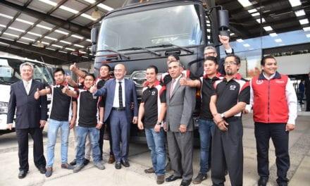 Inauguran la puerta principal de Hino en Toluca