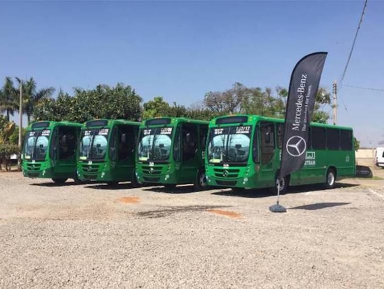 30 buses Mercedes-Benz para Guadalajara