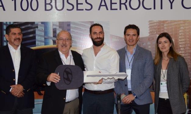 Suma Traxión 100 autobuses Aerocity GNC para Tijuana