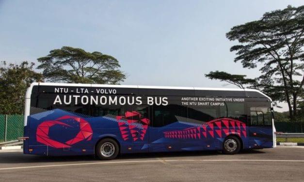 Rodará Volvo el primer autobús eléctrico sin conductor