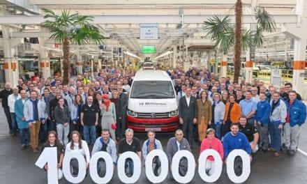 Produce VW el Vehículo Comercial número 10 millones