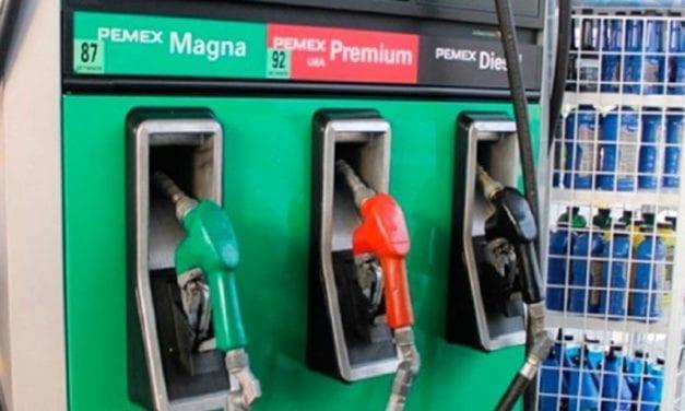Anuncian estímulos fiscales para diesel y gasolina Magna
