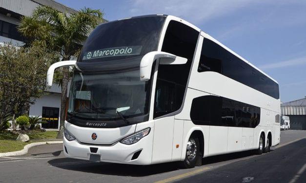 Marcopolo estima comercializar 2,000 unidades en 2019