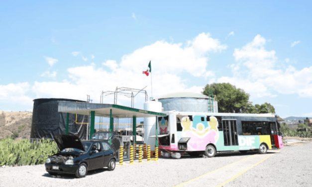 Abren planta de biogás para transporte