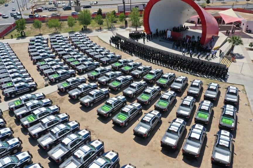 400 patrullas a GNV en Ciudad Juárez