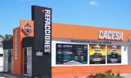 CACESA y Navistar abren sucursal de refacciones en Aguascalientes