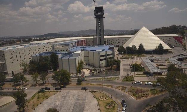Acondicionan sede para Expo Transporte en Puebla