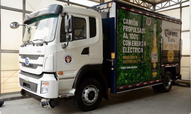Grupo Modelo probará un camión eléctrico para reparto de mercancías