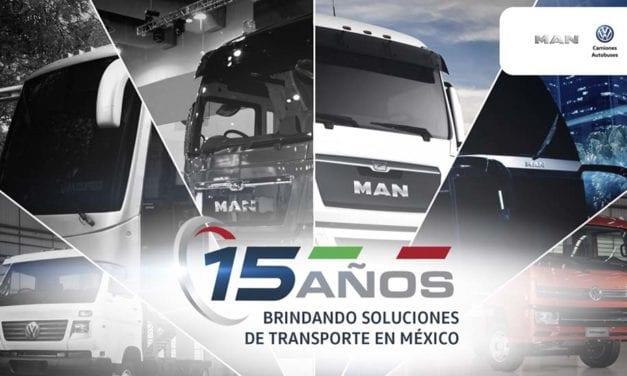 Los primeros 15 años de MAN Truck & Bus México