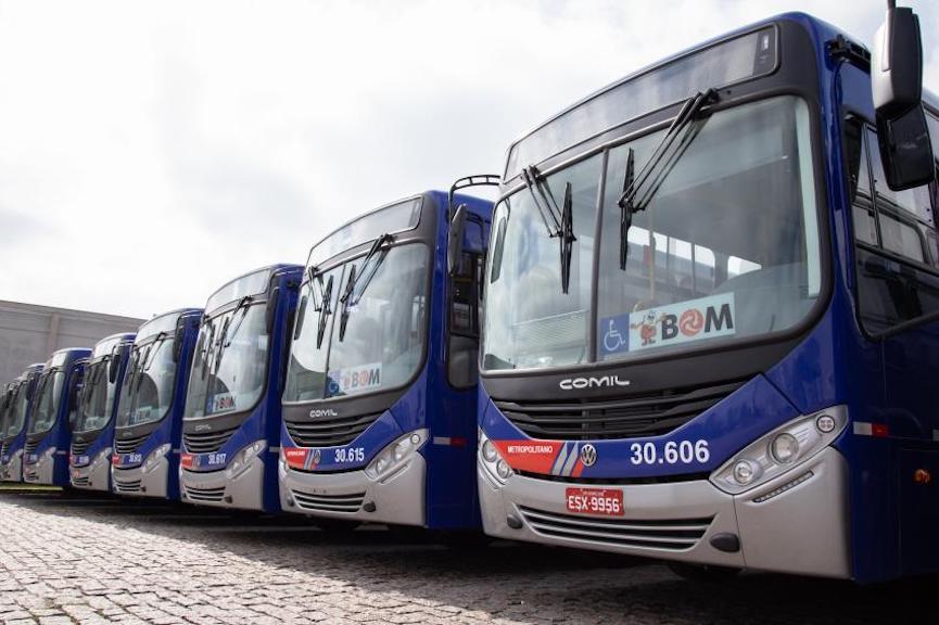 330 Volksbus llegan al transporte de São Paulo