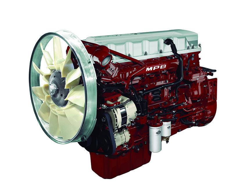 Más kilómetros, menos combustible: motor MP8