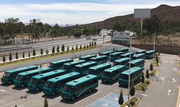 Nuevos autobuses Mercedes-Benz darán servicio en SLP