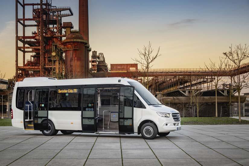 Recibe la Sprinter el galardón del Minibús del Año 2019