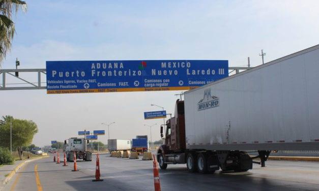 Aumenta transporte transfronterizo en Norteamérica