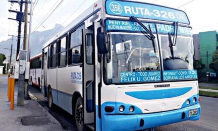 Garantizan servicio de transporte público en NL
