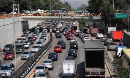 Rehabilitan carriles centrales de Circuito Interior en la CDMX