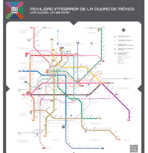 Mapa Integrado-Magazzine del Transporte