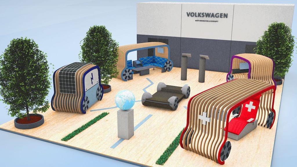 Presenta Volkswagen cápsulas de transporte POD