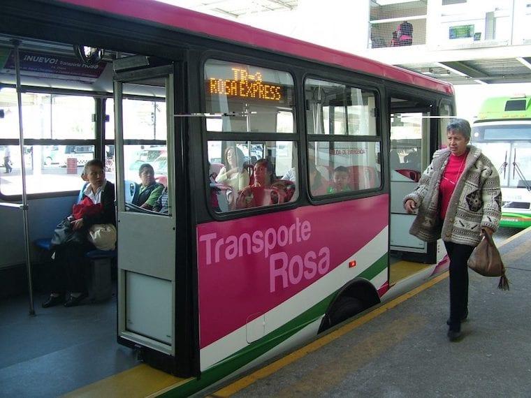 SLP pondrá en marcha Transporte Rosa