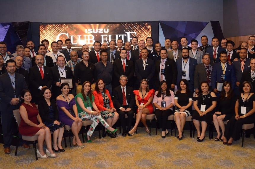 Isuzu reconoce al Club Elite 2018