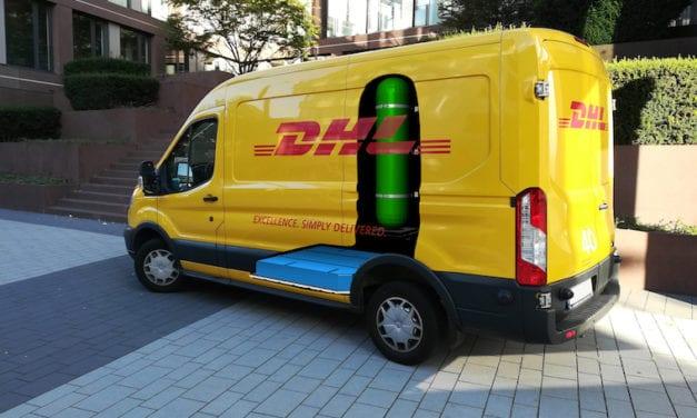 H2 Panel Van, la apuesta de DHL que opera con hidrógeno